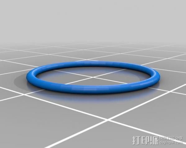 桑纳椅子 3D模型  图3