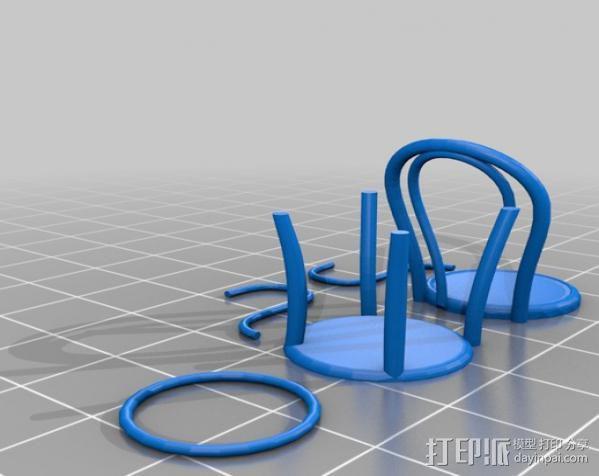 桑纳椅子 3D模型  图5
