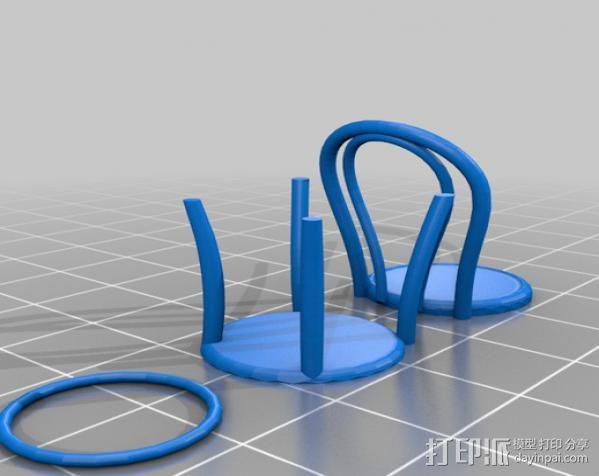 桑纳椅子 3D模型  图6
