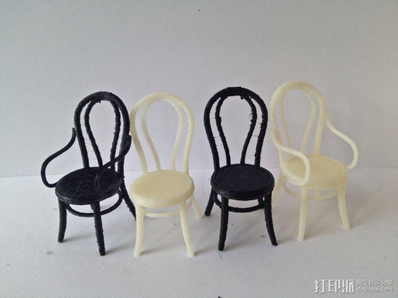 桑纳椅子 3D模型  图7