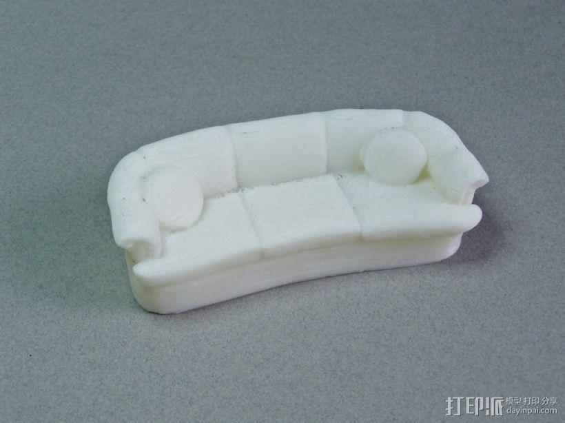 沙发 3D模型  图2