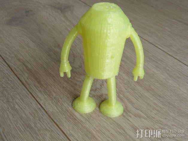 Bender Bending Rodríguez玩偶  3D模型  图5
