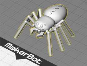 蜘蛛 3D模型