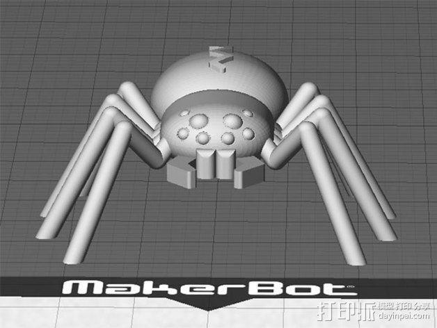 蜘蛛 3D模型  图3