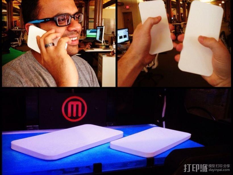 iPhone6手机规格 3D模型  图1