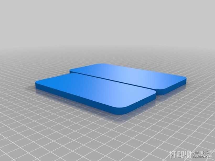 iPhone6手机规格 3D模型  图2