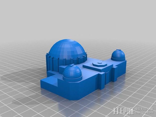 格里菲斯天文台 3D模型  图2