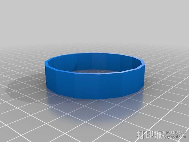 LED灯外罩 保护罩 3D模型  图3