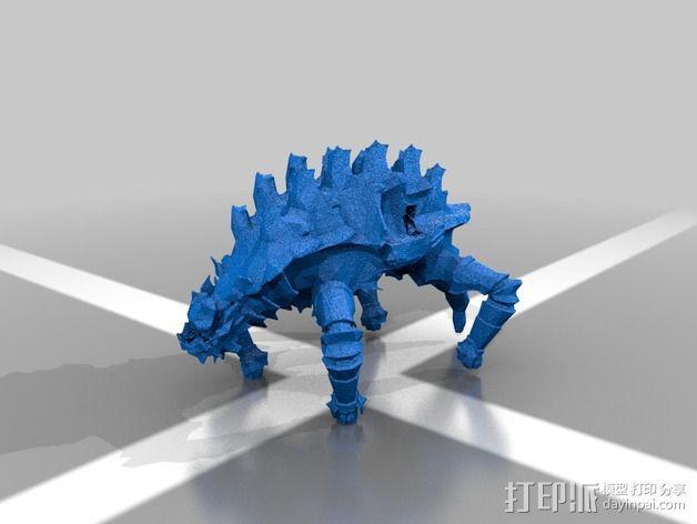 巨像雕塑 3D模型  图2