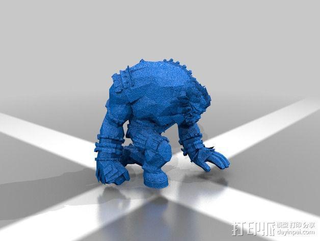 巨像雕塑 3D模型  图4