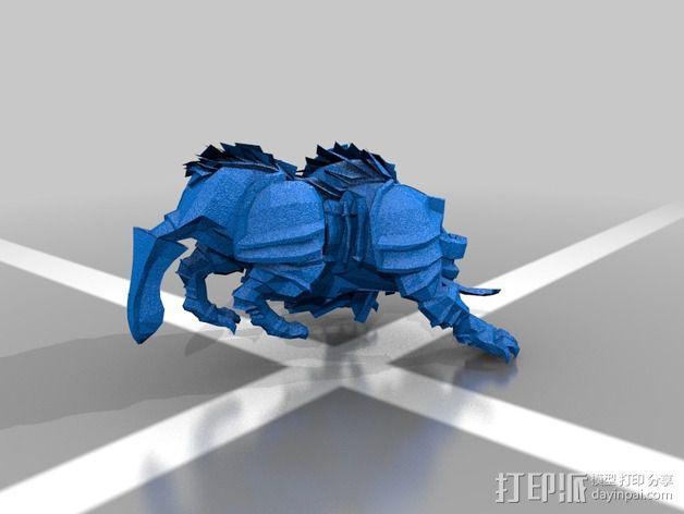 巨像雕塑 3D模型  图5