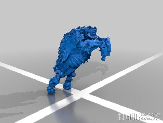 巨像雕塑 3D模型  图6