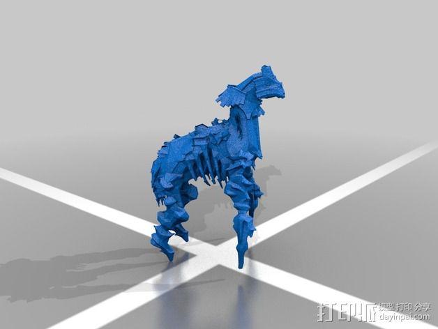 巨像雕塑 3D模型  图8