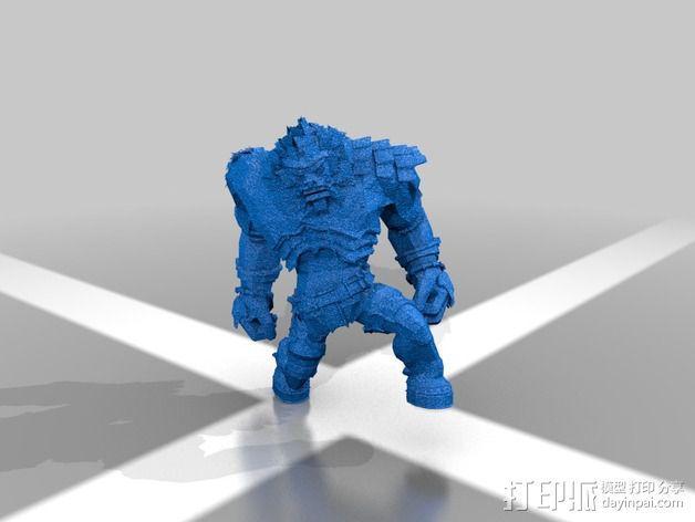 巨像雕塑 3D模型  图10