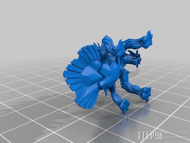 巨像雕塑 3D模型  图12