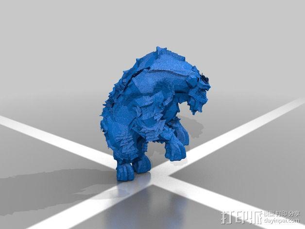 巨像雕塑 3D模型  图11