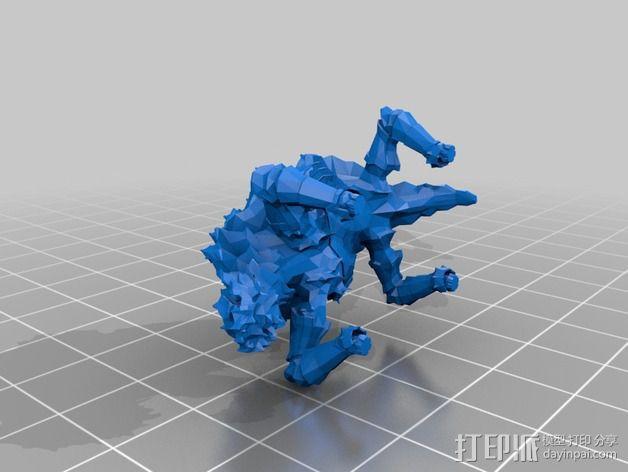 巨像雕塑 3D模型  图13