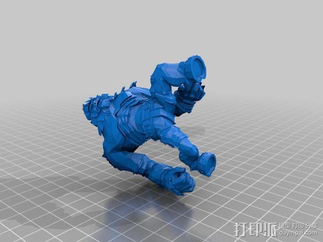 巨像雕塑 3D模型  图14