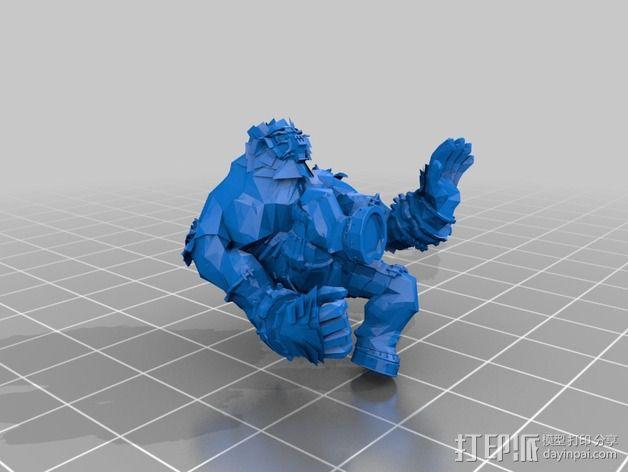 巨像雕塑 3D模型  图17
