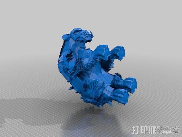 巨像雕塑 3D模型  图20