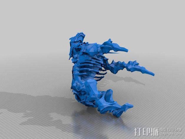 巨像雕塑 3D模型  图21