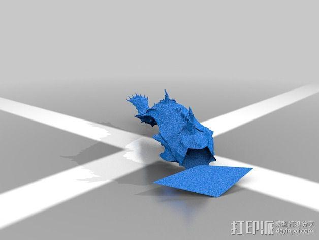 巨像雕塑 3D模型  图22