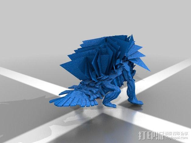 巨像雕塑 3D模型  图23
