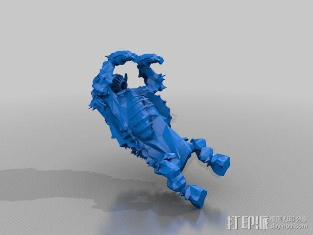 巨像雕塑 3D模型  图26