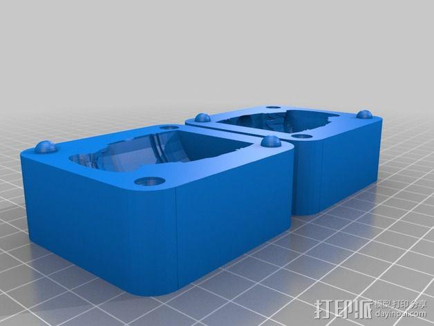 Rayston成型模具 3D模型  图2