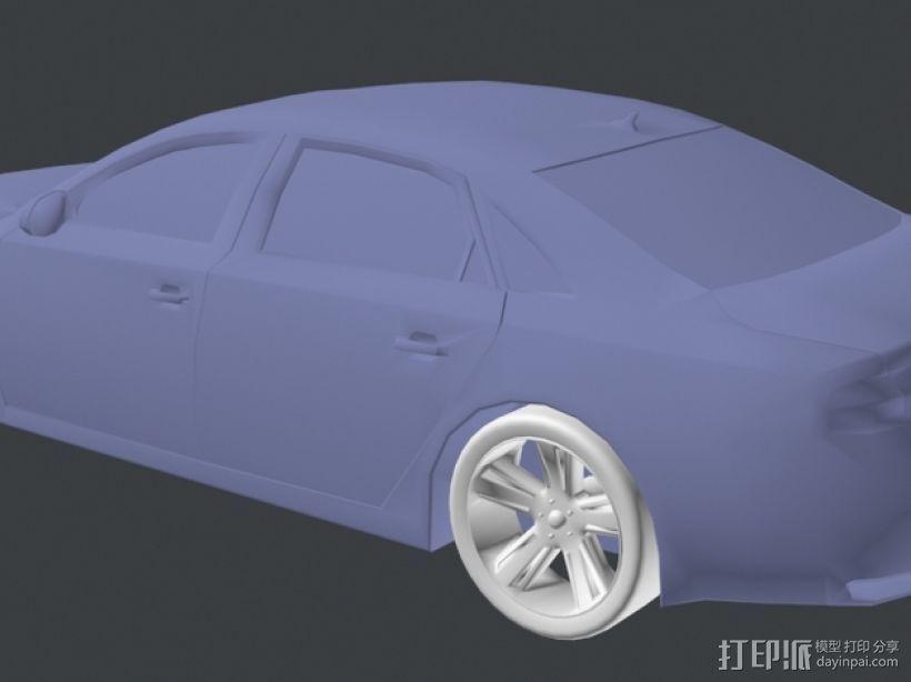 Audio A8奥迪A8汽车 3D模型  图4