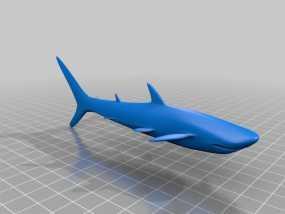 鲨鱼 3D模型