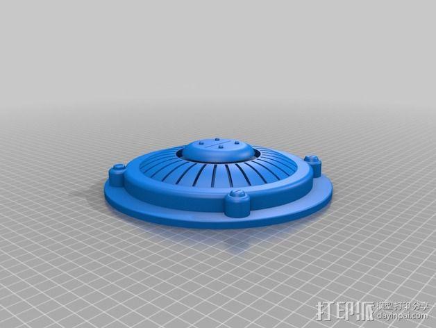 游戏武器 Plasma Mine 3D模型  图1