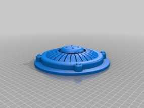 游戏武器 Plasma Mine 3D模型