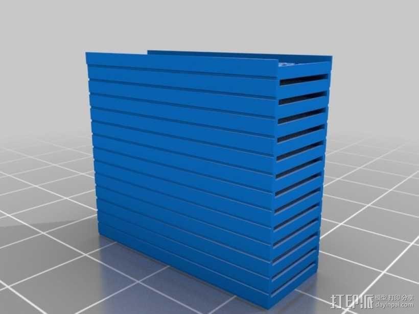 水果晾干架 3D模型  图3