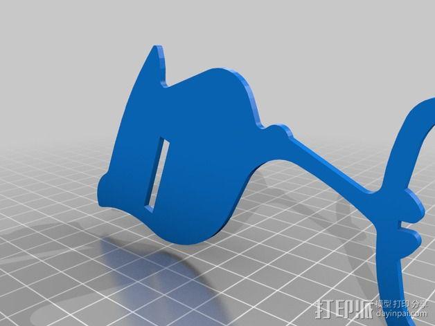 五彩小鸟 3D模型  图15