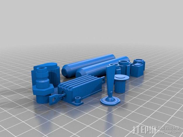 捉鬼敢死队  Ghost Trap鬼魂收集器  3D模型  图3