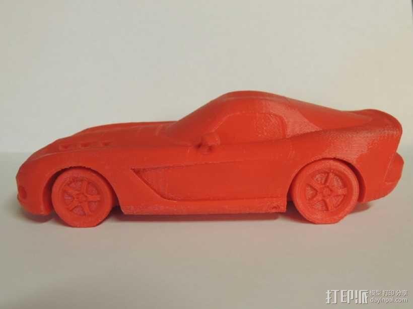 Dodge Viper跑车 3D模型  图3