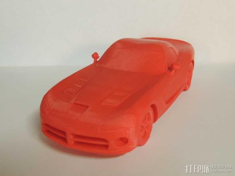 Dodge Viper跑车 3D模型  图1