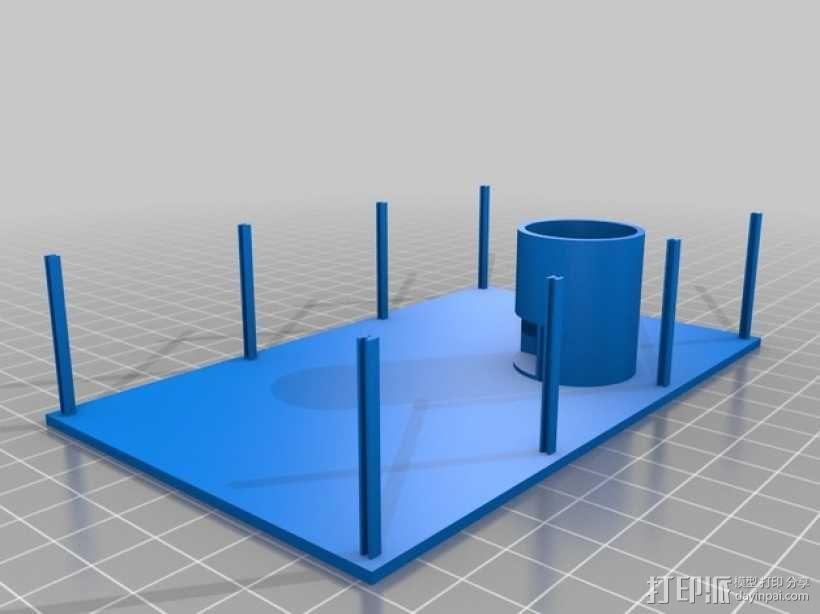玻璃房 3D模型  图2