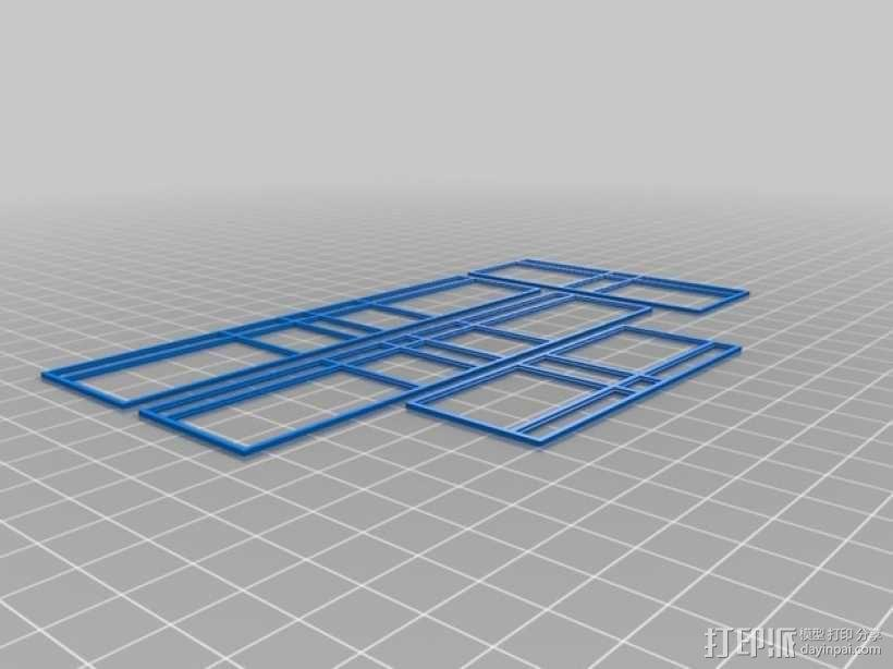 玻璃房 3D模型  图4