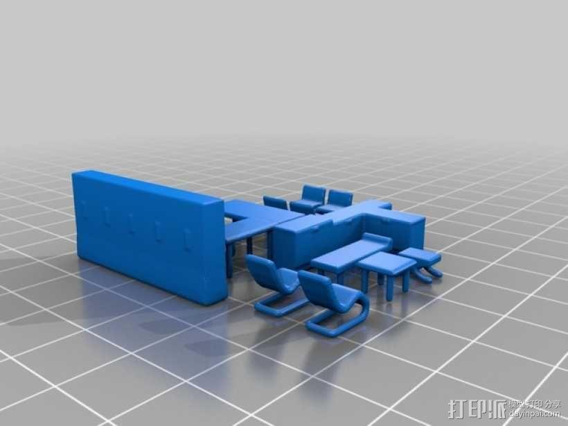 玻璃房 3D模型  图5