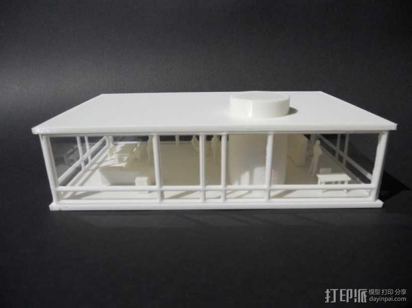 玻璃房 3D模型  图6