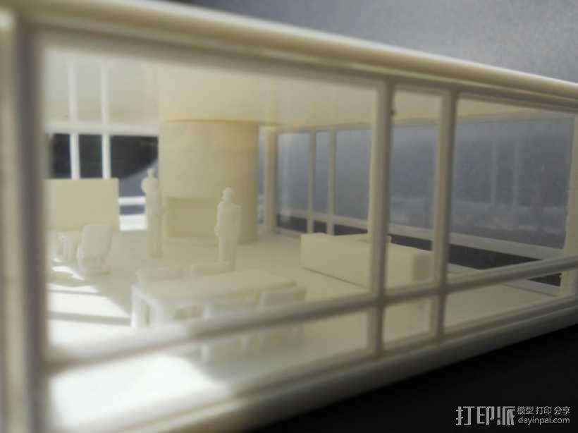 玻璃房 3D模型  图7