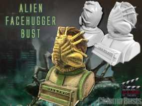 外星生物抱脸虫  3D模型