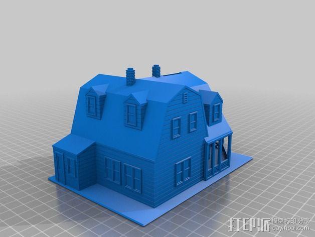 海边别墅 存钱罐 3D模型  图4