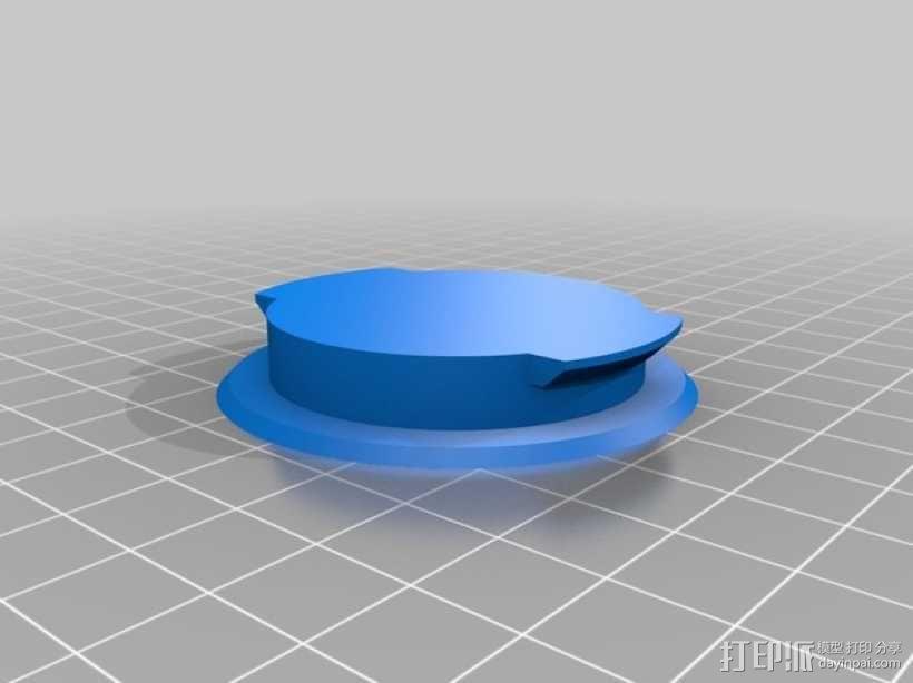 海边别墅 存钱罐 3D模型  图6