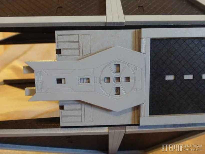 TIE截击机 3D模型  图3