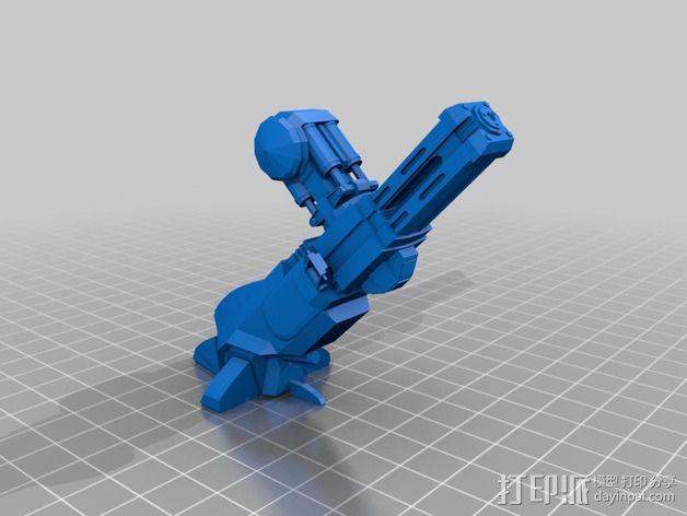 ED-209机器人 3D模型  图4