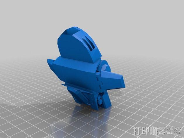 ED-209机器人 3D模型  图3