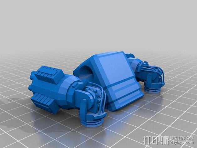 ED-209机器人 3D模型  图6